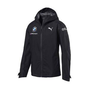 Puma BMW M Sport Motorsport Team Mens Rain Jacket Coat Waterproof