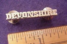 CITY OF LOS ANGELES LAPD POLICE DEVONSHIRE DIVISION SHINY CHROME METAL PIN