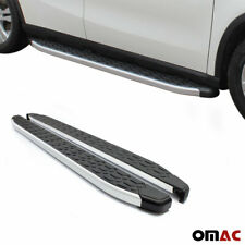 Side Steps Running Boards Nerf Bars Aluminum For Volkswagen Touareg 2010-2015
