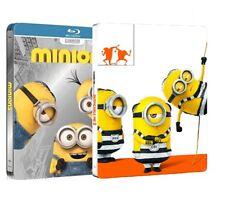 CATTIVISSIMO ME 3 + MINIONS STEELBOOK (2 BLU-RAY + 2 DVD) EDIZIONE SPECIALE