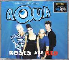 Aqua - Roses Are Red - CDM - 1997 - Eurodance 2TR Denmark