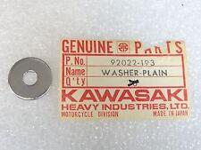 Kawasaki NOS NEW  92022-193   Plain Washer   H1 H2 S1 S2 S3 ZX KZ VN  1973-2000