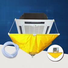 3-5P Air Conditioner Clean Case Washing Covers Dust Removal Protector Yellow BOS