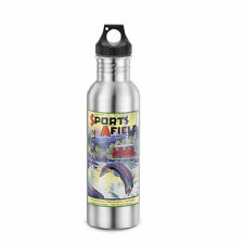 Fish Fishing Sports Afield Water Bottle Stainless Steel Retro New