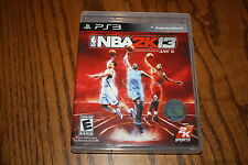 NBA 2K13 (Sony Playstation 3, 2012) Great Shape Complete NBA 2K 13