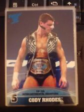 2013 Topps Best of WWE Top Ten Intercontinental Champion #5 Cody Rhodes
