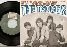 THE TROGGS NIGHT OF THE LONG GRASS EP PORTUGAL 45+PS 1966 FREAKBEAT MOD PSYCH