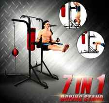Multi-Station Boxing Stand with Power Tower Gym Station Speedball Air Pump