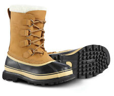 NEW Sorel Caribou Womens Insulated -40° Snow Pac Boots winter BUFF Tan brown 9.5