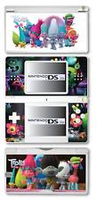 Trolls carcasa de vinilo adhesivo para Nintendo DS Lite