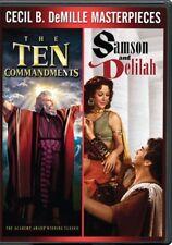 Ten Commandments / Samson & Delilah (DVD,2017)