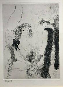 Marie Laurencin (1883-1956) - Radierung  - Nummeriert 120 / 225