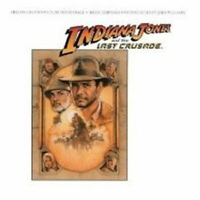 """INDIANA JONES """"AND THE LAST CRUSADE"""" CD SOUNDTRACK NEW"""