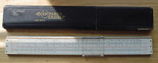 A. W. Faber Castell 12 Inch Slide Rule with Case