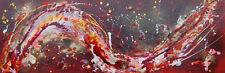 """Magnífico Original Rachel McCullock """"Dragón pintura abstracta moderna fuego"""""""
