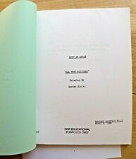 Lost In Space All That Glitters script (copy) + 2 B&W photos Free Shipping