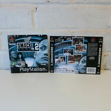 BOX ART INSERT ARTWORK INLAYS FOR PS1 WWF SMACKDOWN 2 GAME