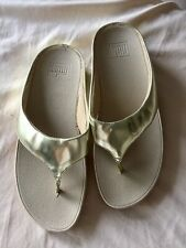 Fitflops Gold Brand New Sz 38