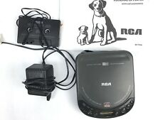 Portable CD Player RCA RP-7926A Discman Includes accessories A9