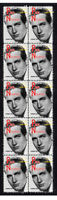 PAUL NEWMAN HOLLYWOOD ICON STRIP OF 10 MINT VIGNETTE STAMPS 3