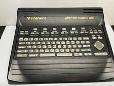 Videonics Titlemaker 2000 parts