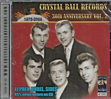 CRYSTAL BALL RECORDS - CD - 30th Anniversary - Vol. 2 - BRAND NEW