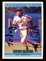 Kevin Elster #307 signed autograph auto 1992 Donruss Baseball Trading Card