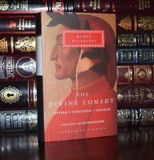 Divine Comedy Inferno Paradiso by Dante Alighieri New Hardcover Deluxe Classics