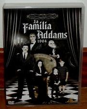 LA FAMILIA ADDAMS PRIMERA TEMPORADA COMPLETA 3 DVD NUEVO SERIE COMEDIA 1964 R2