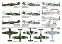 """1/48 Decal Sheet : MESSERSCHMITT BF 109E """"EARLY EMILS"""" : Avalon Decals"""