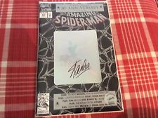 SpiderMan Signed Comic Book By Stan Lee Aug #365