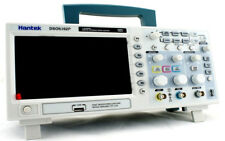 "Hantek DSO5102P Digital Oscilloscope 100MHz 1Gs 2CH 7"" TFT Record length up 40K"