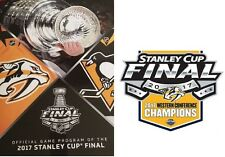2017 STANLEY CUP FINAL PROGRAM NASHVILLE PREDATORS WESTERN CONFERENCE CHAMPIONS