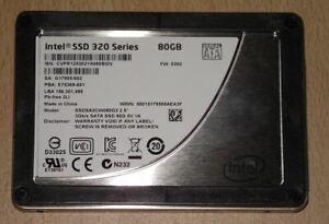 Intel SSD 320 Series 80GB