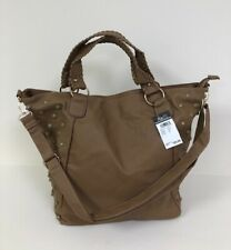 New - Rue21  Cream Beige Faux Leather Large Tote Purse Bag NWT! Retail $29.99