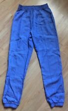 LULULEMON Mat to Street Pant Blue Tencel  size 4  EUC Trouser Slouch After Yoga