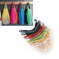 Eco Reusable Shopping String Grocery Handbags Woven Net Tote Mesh Bag Fishnet fS
