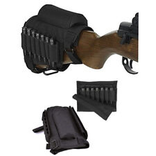 Adjustable Tactical Buttstock Rifle Cheek Rest Pouch Holder for .308 .300 Winmag