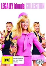 Legally Blonde 1 2 3 Trilogy Region 4 DVD