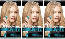 Lot Of 3- L'oreal Touch On Highlights H90 Iced Champagne Light To Medium Blonde