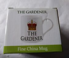 The leonardo collection fine china mug the gardner mug new
