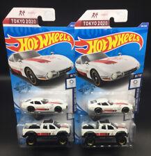 2020 Hot Wheels Tokyo Olympic Toyota 2000 GT & Tundra White Lot Of 4 Cars Vhtf