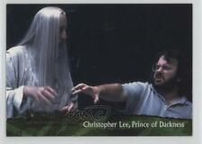 2001 #84 Christopher Lee Prince of Darkness Non-Sports Card 2k3