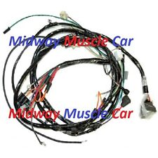 front end forward head light lamp wiring harness  70 71 Chevy Camaro V8