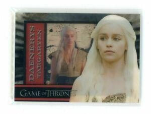 Game of Thrones Season 1 Emilia Clarke as Daenerys Targaryen Shadowbox Insert