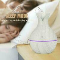 Essential Oil Diffuser Air Purifier LED Ultrasonic Humidifier Aromatherapy J4M7