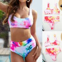 Swimwear Beach Bathing Suit High Waist Push-up Swimsuit Womens Padded