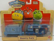 Chuggington Wooden Quarry Cars DISCOUNTED