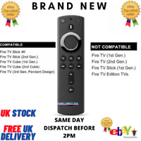 New Amazon 4K Remote Control with Alexa Voice For Amazon Fire TV Stick UK Seller