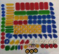 Great Bundle Of Bristle Blocks/Stickle bricks Approx 109 Pieces